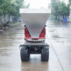 履帶柴油自走式液壓馬達撒肥機