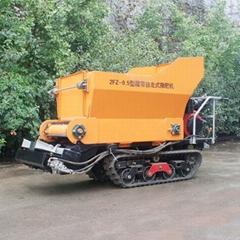 履帶柴油自走式液壓馬達土肥撒肥機