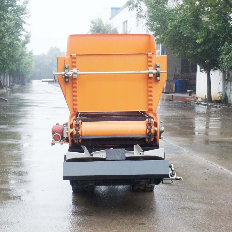 履帶柴油液壓馬達土肥撒肥機 13