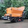 walk behind garden crawler fertilizer spreader