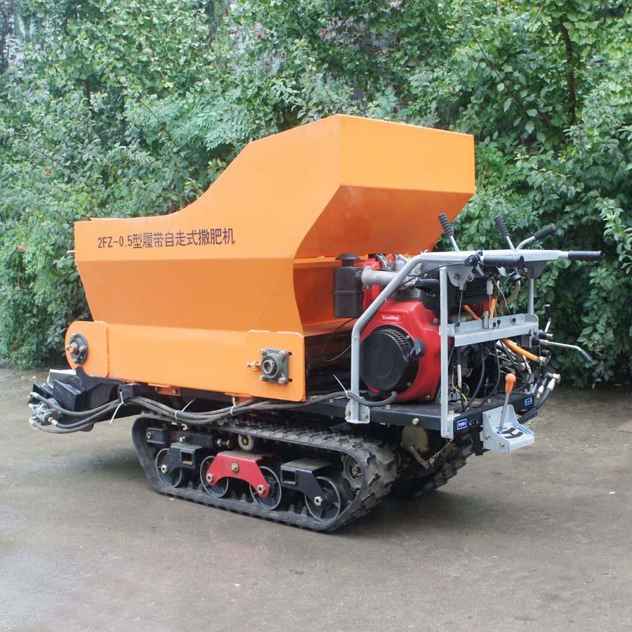 履帶大棚液壓馬達土肥撒肥機 2
