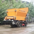 green hourse double disc manure  fertilizer spreader