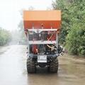 履带大棚液压马达土肥撒肥机 6