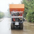 履帶大棚液壓馬達土肥撒肥機 6