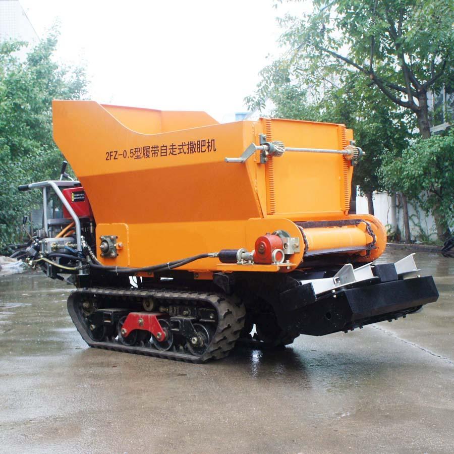 履带大棚液压马达土肥撒肥机 7