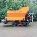 履帶大棚液壓馬達土肥撒肥機 8