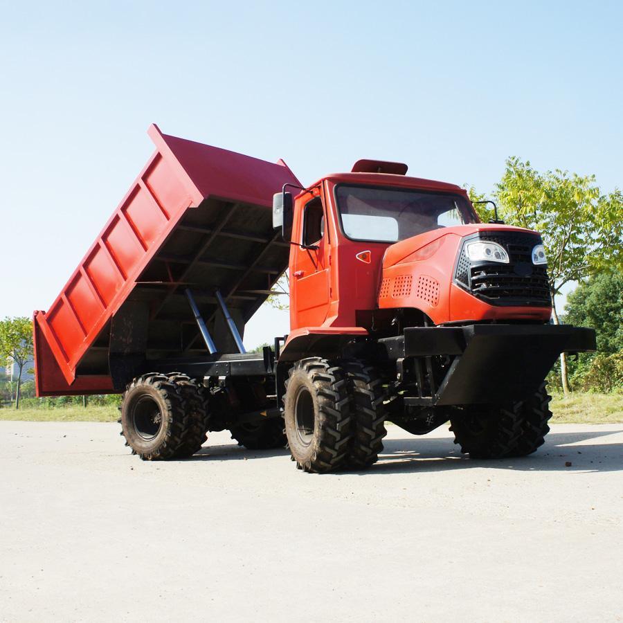 农用四驱棕榈园折腰转向运输型拖拉机 WY-5000 2