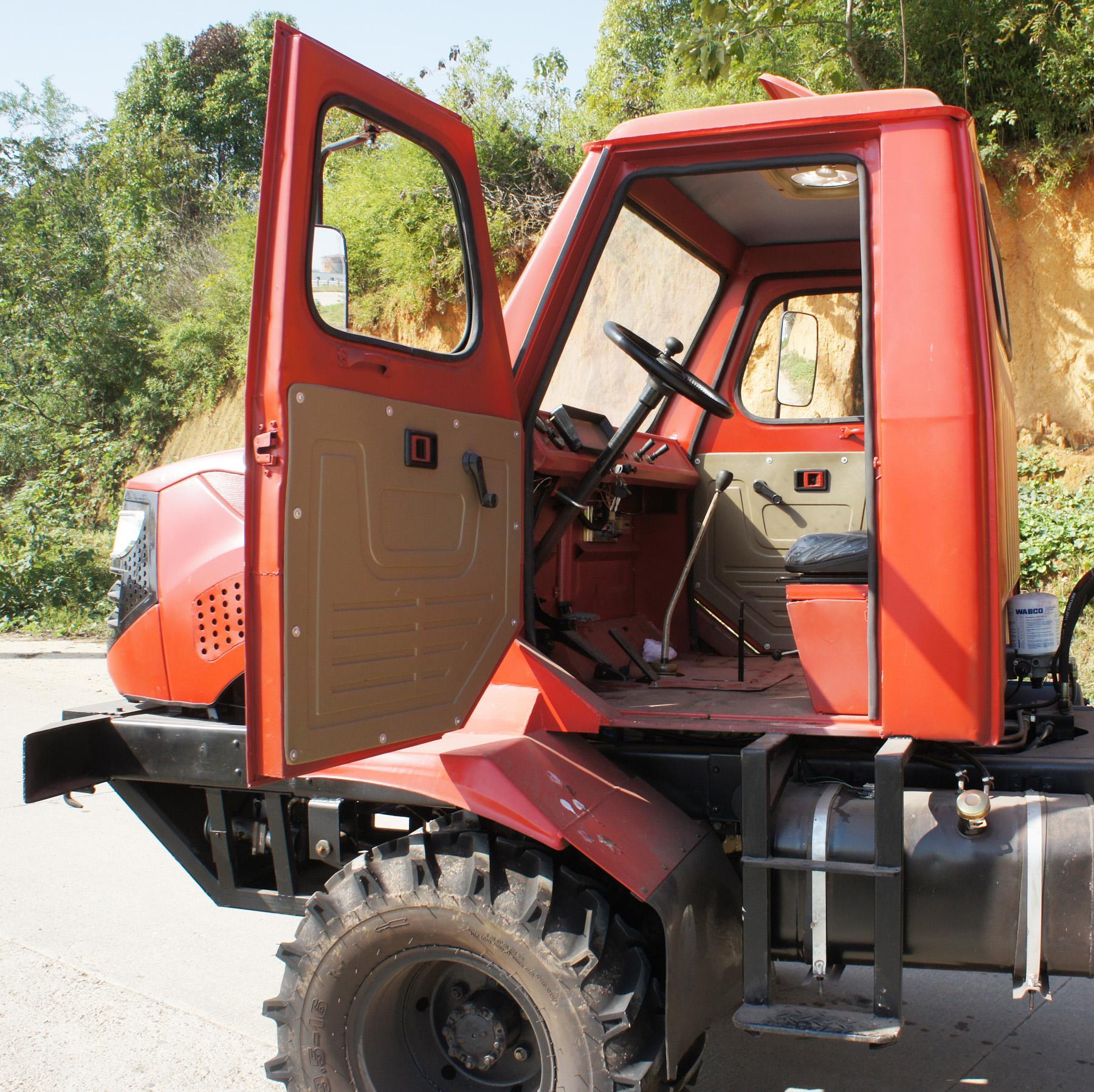 農用四驅棕櫚園折腰轉向運輸型拖拉機 WY-5000 9