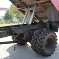 4WD articulated steering transporter tractor