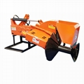 Agricultural single side ridger making machine