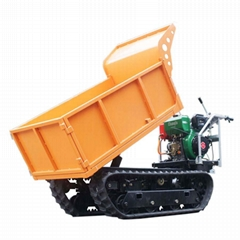 Loading 1000KG micro crawler dumper for fruits garden (Hot Product - 1*)