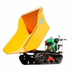 棕榈柴油履带柴油液压翻斗车