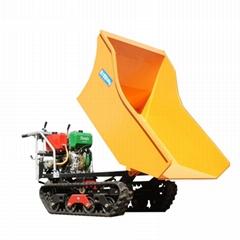 棕櫚果園柴油履帶柴油液壓翻斗車