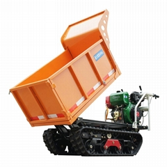 mini crawler tipper truck dumper