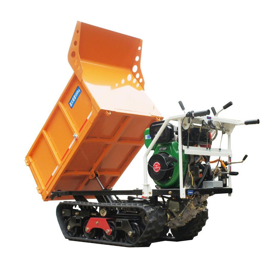 garden mini crawler truck dumper  1