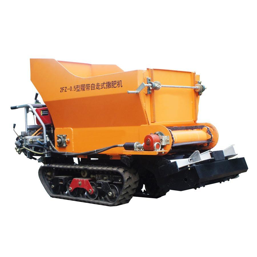 履帶柴油液壓馬達土肥撒肥機 6