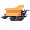 walk behind garden crawler fertilizer spreader