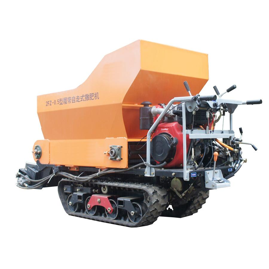 履带大棚液压马达土肥撒肥机 1
