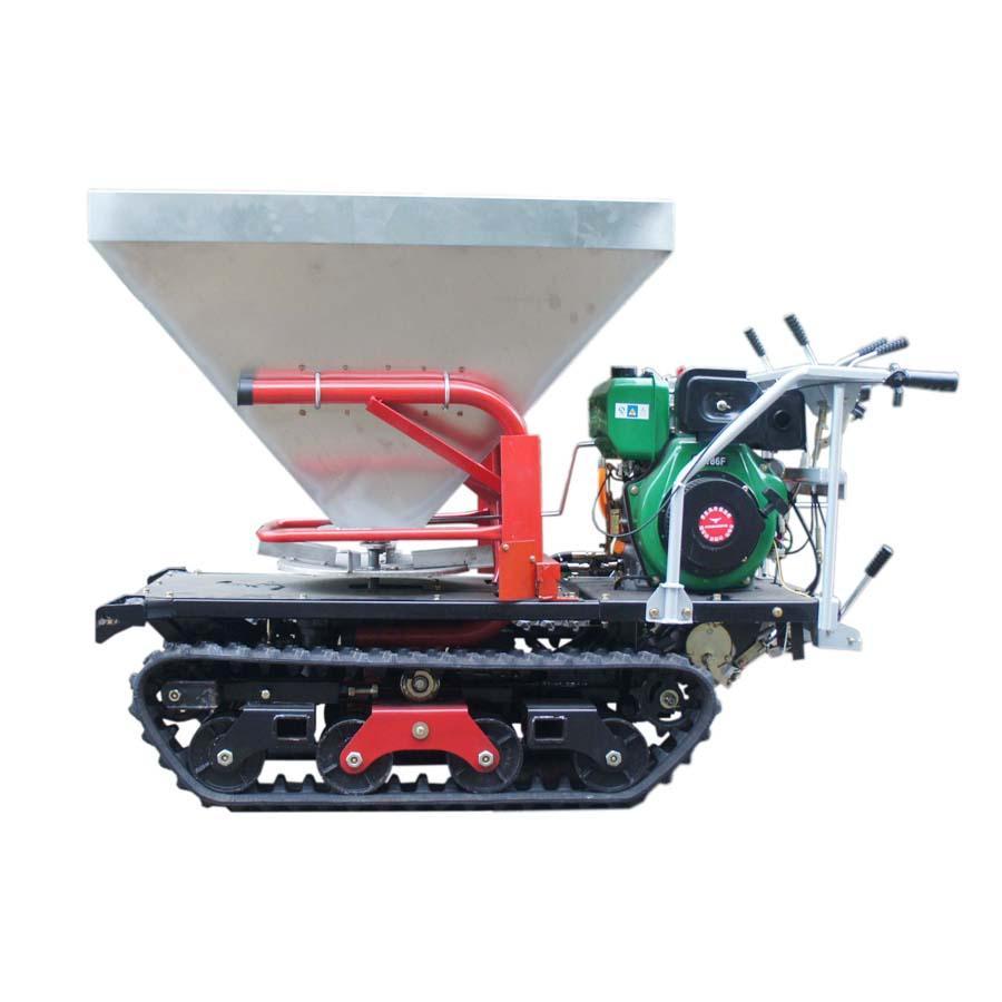 履带柴油自走式液压马达撒肥机 1