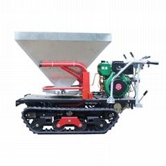 履带柴油自走式液压马达撒肥机