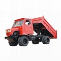 Agricultural tractor wood transport