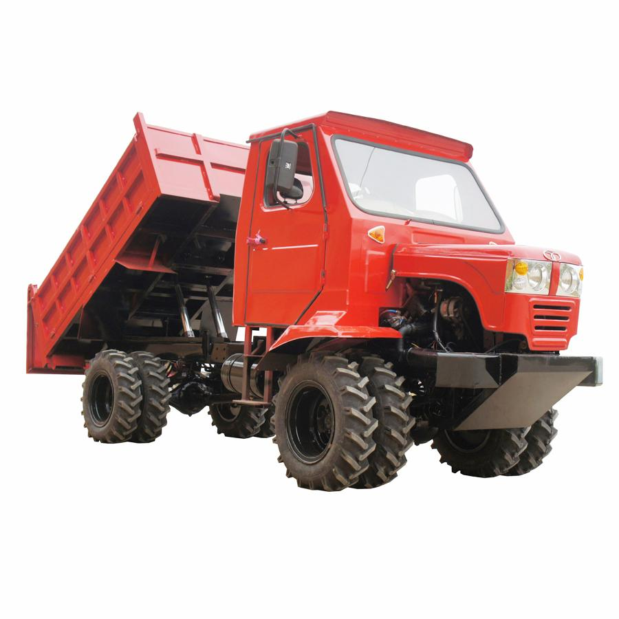 articulated hydraulic dump transporter tractor