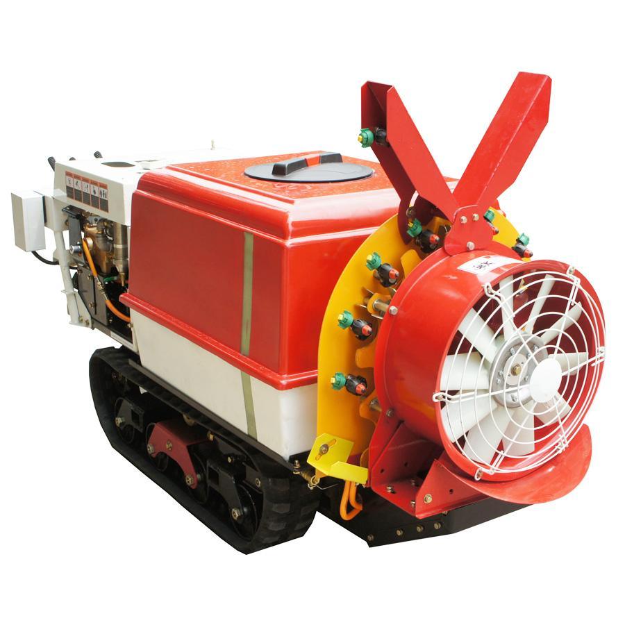 Self propelled crawler air blast power sprayer  3WF-350