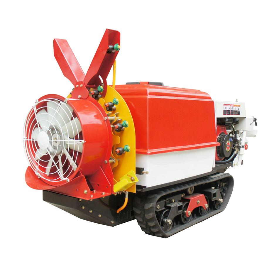 Self propelled crawler air blast power sprayer    1