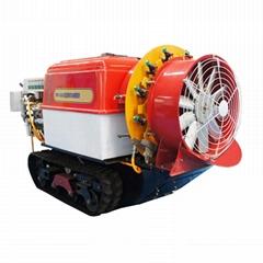 Mini remote control crawler power  sprayer  3WF-500D