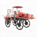 Farm self-propelled boom sprayer for paddy