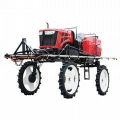 農用自走式水旱兩用噴杆噴霧機
