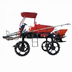 柴油自走式水旱两用喷杆喷雾机