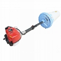Mini handle gas engine garden air blast