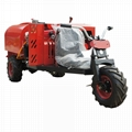Mini wheel type  diesel engine garden air blast sprayer