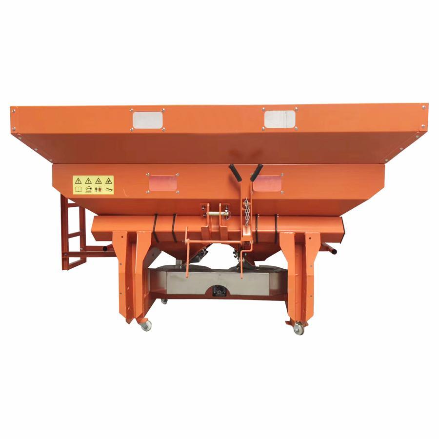 Agricultural tractor mounted fertilizer Spreader 8