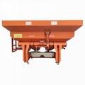 Agricultural tractor mounted fertilizer Spreader