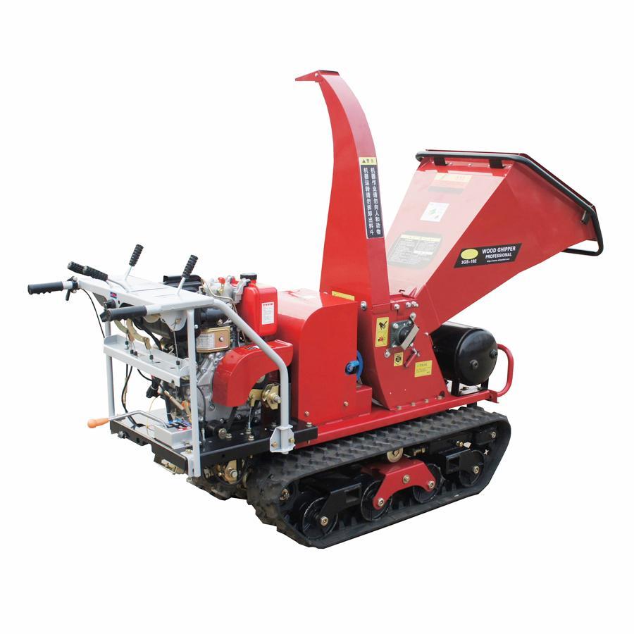 履带树枝树叶粉碎机劈木机 3
