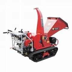 Mini crawler self propelled Wood Chipper Machine