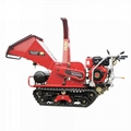 Mini Mobile Garden Wood Chipper with