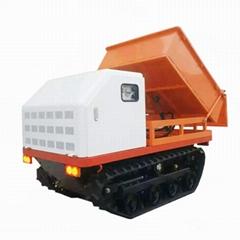 果园遥控汽油履带翻斗车   7YL-300