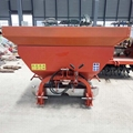 Agricultural granular manure spreader