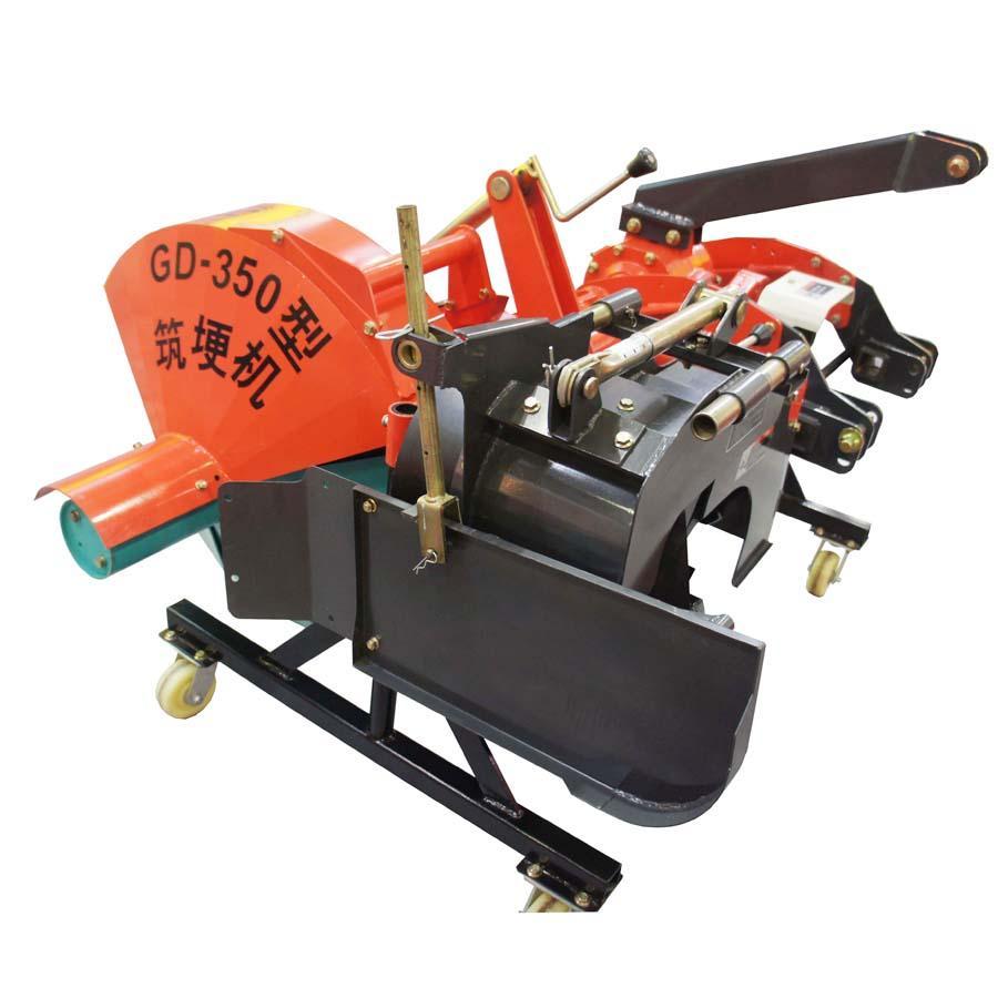 tractor mounted ridger making machine
