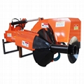 tractors mounted rice divider single row making machine