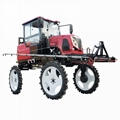 self propelled type wheat boom sprayer