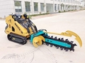 Mini skid steer loader ML525
