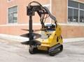 garde crawler skid steer loader ML525T