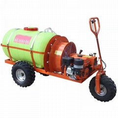 Mini wheel type gas engine air blast sprayer  WL-300A
