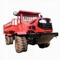 Pull multi-functino wheel type transporter