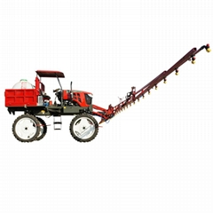 paddy field and dry farmland liquid fertilizer spray machine