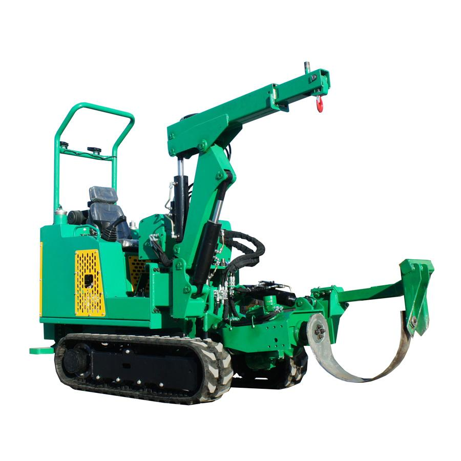 迷你履帶圓弧刀式移樹機/挖樹機 JYD-36 1